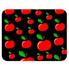Red apples  Double Sided Flano Blanket (Medium)