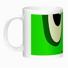 Halloween Frankenstein - Green Night Luminous Mugs