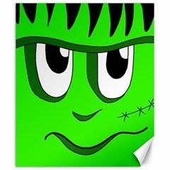 Halloween Frankenstein - Green Canvas 20  x 24
