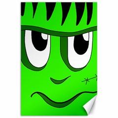 Halloween Frankenstein - Green Canvas 24  x 36