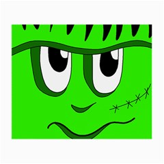 Halloween Frankenstein - Green Small Glasses Cloth (2-Side)