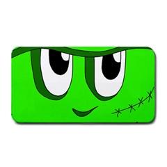 Halloween Frankenstein - Green Medium Bar Mats