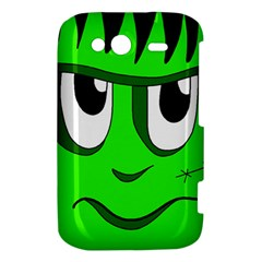 Halloween Frankenstein - Green HTC Wildfire S A510e Hardshell Case