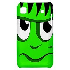 Halloween Frankenstein - Green Samsung Galaxy S i9000 Hardshell Case
