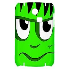 Halloween Frankenstein - Green Samsung S3350 Hardshell Case