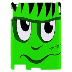 Halloween Frankenstein - Green Apple iPad 2 Hardshell Case