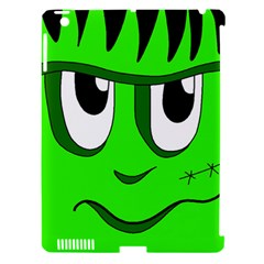 Halloween Frankenstein - Green Apple iPad 3/4 Hardshell Case (Compatible with Smart Cover)