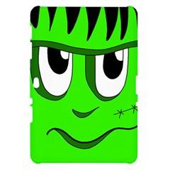 Halloween Frankenstein - Green Samsung Galaxy Tab 10.1  P7500 Hardshell Case