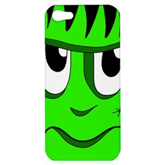 Halloween Frankenstein - Green Apple iPhone 5 Hardshell Case