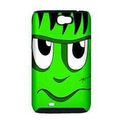 Halloween Frankenstein - Green Samsung Galaxy Note 2 Hardshell Case (PC+Silicone)