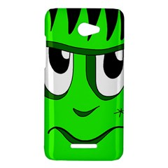 Halloween Frankenstein - Green HTC Butterfly X920E Hardshell Case