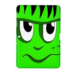 Halloween Frankenstein - Green Samsung Galaxy Tab 2 (10.1 ) P5100 Hardshell Case