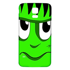 Halloween Frankenstein   Green Samsung Galaxy S5 Back Case (white)