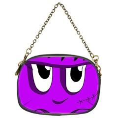 Halloween - purple Frankenstein Chain Purses (One Side)