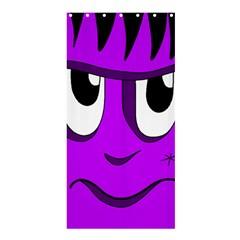 Halloween - purple Frankenstein Shower Curtain 36  x 72  (Stall)