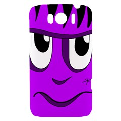 Halloween - purple Frankenstein HTC Sensation XL Hardshell Case
