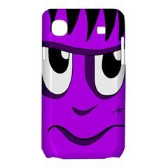Halloween - purple Frankenstein Samsung Galaxy SL i9003 Hardshell Case