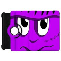 Halloween - purple Frankenstein Kindle Fire HD Flip 360 Case