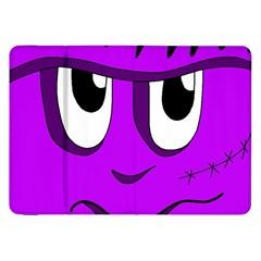 Halloween - purple Frankenstein Samsung Galaxy Tab 8.9  P7300 Flip Case
