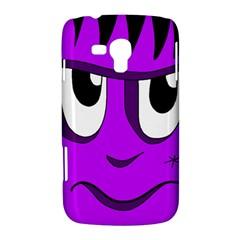 Halloween - purple Frankenstein Samsung Galaxy Duos I8262 Hardshell Case