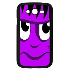 Halloween - purple Frankenstein Samsung Galaxy Grand DUOS I9082 Case (Black)