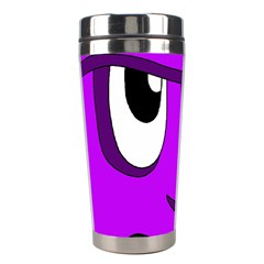 Halloween - purple Frankenstein Stainless Steel Travel Tumblers