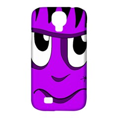 Halloween - purple Frankenstein Samsung Galaxy S4 Classic Hardshell Case (PC+Silicone)