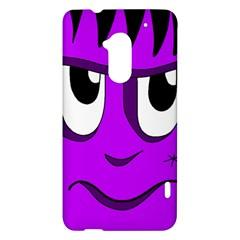 Halloween - purple Frankenstein HTC One Max (T6) Hardshell Case