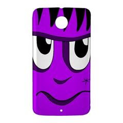 Halloween - purple Frankenstein Nexus 6 Case (White)