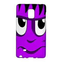 Halloween - purple Frankenstein Galaxy Note Edge
