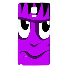 Halloween - purple Frankenstein Galaxy Note 4 Back Case