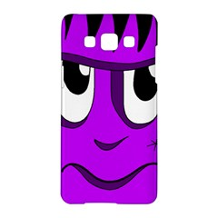 Halloween - purple Frankenstein Samsung Galaxy A5 Hardshell Case