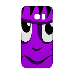 Halloween - purple Frankenstein Galaxy S6 Edge