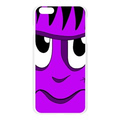Halloween - purple Frankenstein Apple Seamless iPhone 6 Plus/6S Plus Case (Transparent)