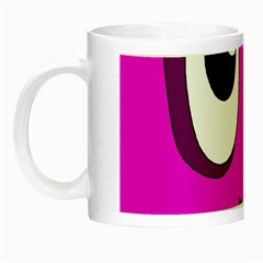 Halloween - pink Frankenstein Night Luminous Mugs