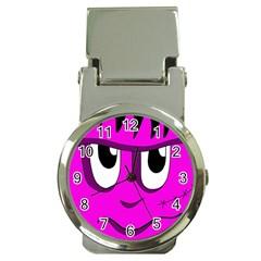 Halloween - pink Frankenstein Money Clip Watches