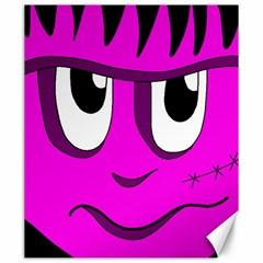 Halloween - pink Frankenstein Canvas 20  x 24