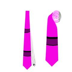 Halloween - pink Frankenstein Neckties (Two Side)