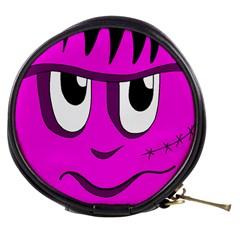 Halloween - pink Frankenstein Mini Makeup Bags