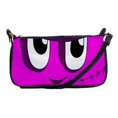 Halloween - pink Frankenstein Shoulder Clutch Bags