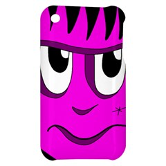 Halloween - pink Frankenstein Apple iPhone 3G/3GS Hardshell Case