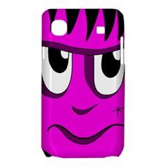 Halloween - pink Frankenstein Samsung Galaxy SL i9003 Hardshell Case