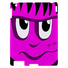 Halloween - pink Frankenstein Apple iPad 2 Hardshell Case