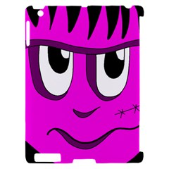 Halloween - pink Frankenstein Apple iPad 2 Hardshell Case (Compatible with Smart Cover)