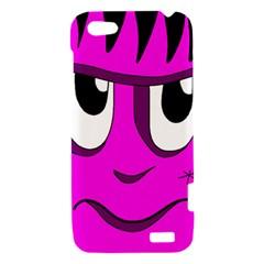 Halloween - pink Frankenstein HTC One V Hardshell Case