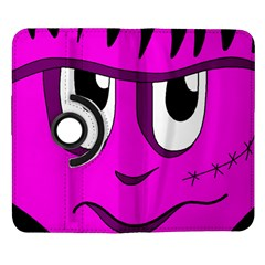 Halloween - pink Frankenstein Samsung Galaxy Note II Flip 360 Case