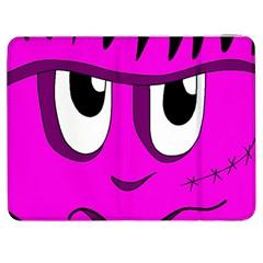 Halloween - pink Frankenstein Samsung Galaxy Tab 7  P1000 Flip Case