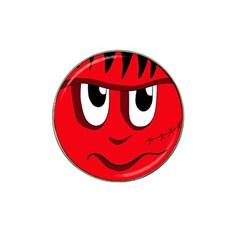 Halloween Frankenstein - red Hat Clip Ball Marker