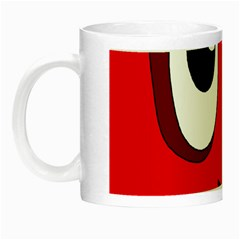 Halloween Frankenstein - red Night Luminous Mugs