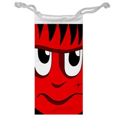 Halloween Frankenstein - red Jewelry Bags